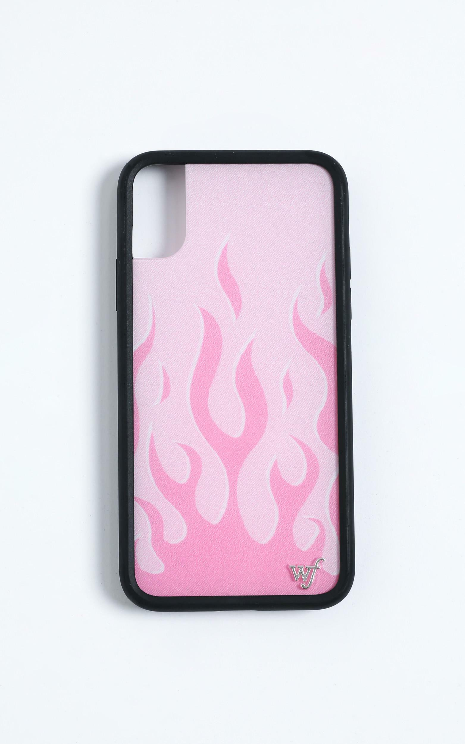 Wildflower - Iphone Case in Pink Flames - 8 Plus, PNK2, hi-res image number null