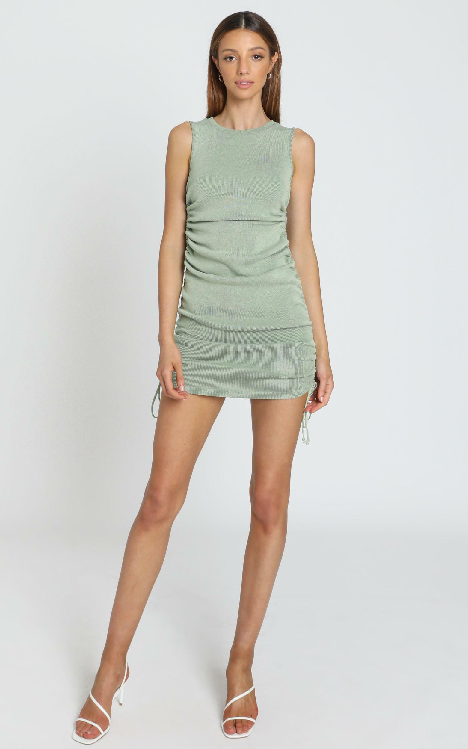Lioness - Military Minds dress in pistachio - 6 (XS), Green, hi-res image number null