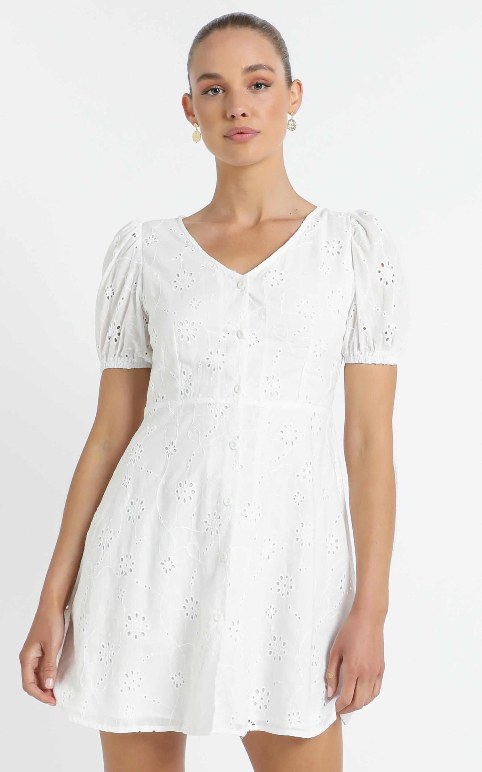 Walsh Dress in White - 12 (L), WHT1, hi-res image number null