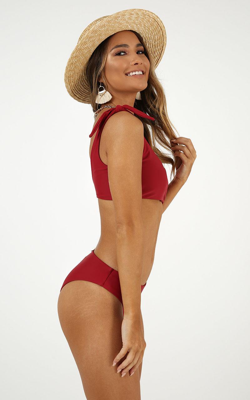 Jasmine Bikini Bottom in chilli - 20 (XXXXL), Red, hi-res image number null