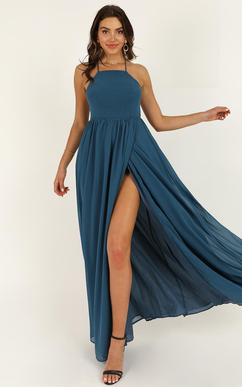 My Kind Of Prom Dress in teal - 20 (XXXXL), Green, hi-res image number null
