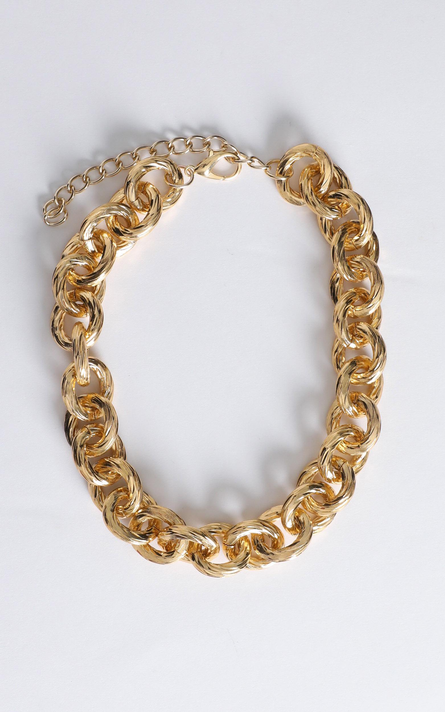 Anaise Chain Necklace in Gold, , hi-res image number null