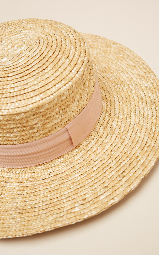 Far From Home hat in natural and blush, Beige, hi-res image number null