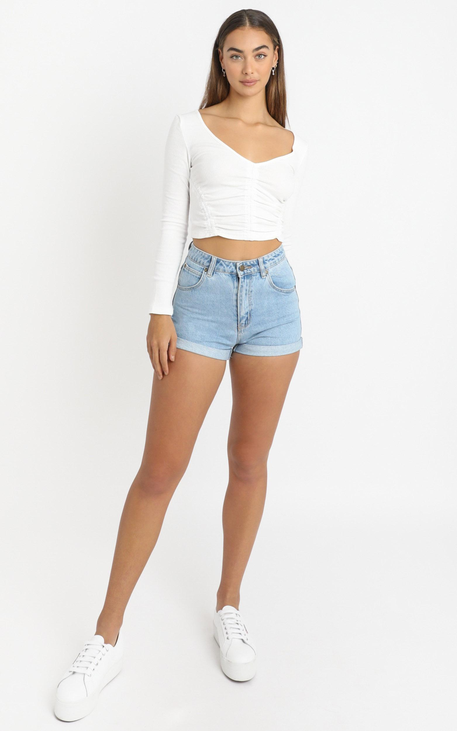 Jericho Top in White - 6 (XS), White, hi-res image number null