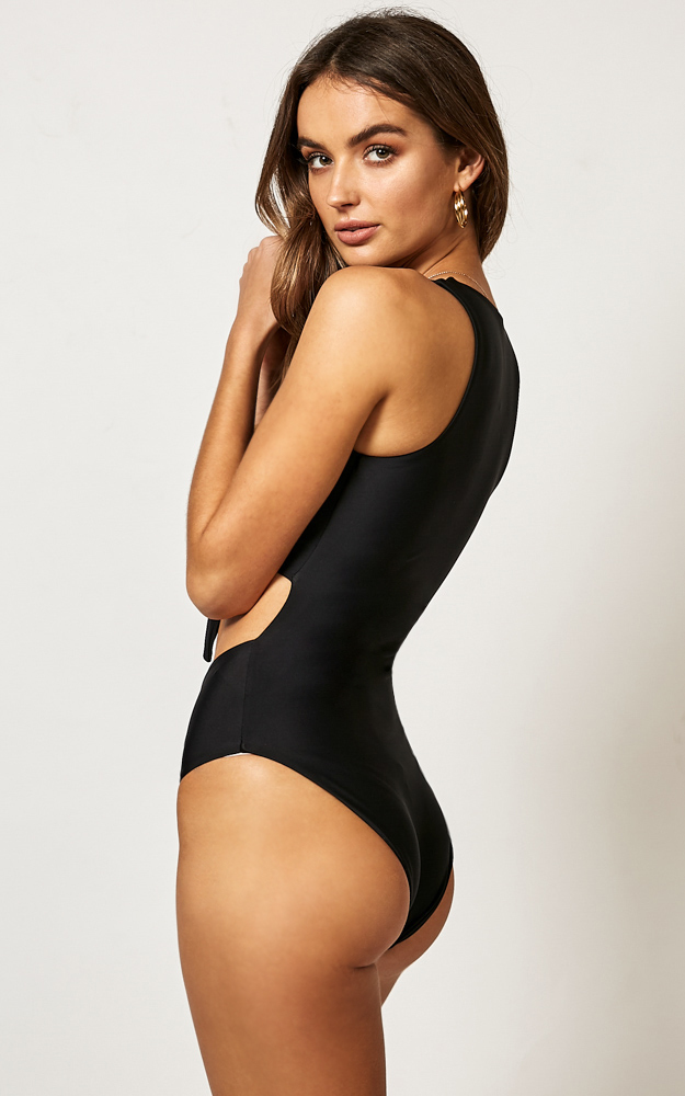 Izzy One Piece in Black - 14 (XL), Black, hi-res image number null