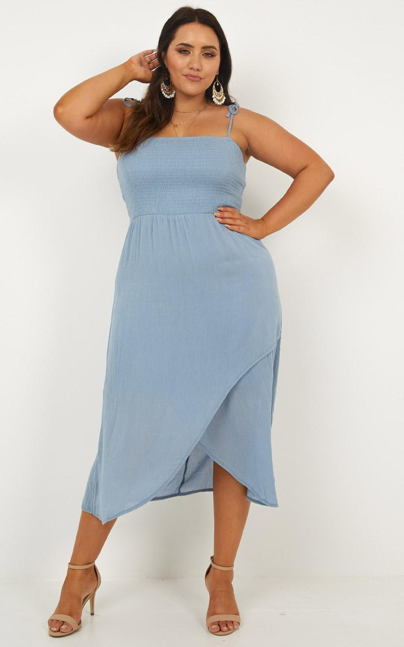 Swinging Days Dress in blue - 18 (XXXL), Blue, hi-res image number null