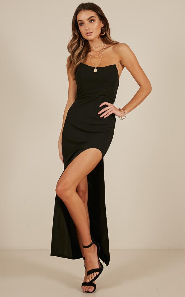 Costa Mesa dress in black - 12 (L), Black, hi-res image number null