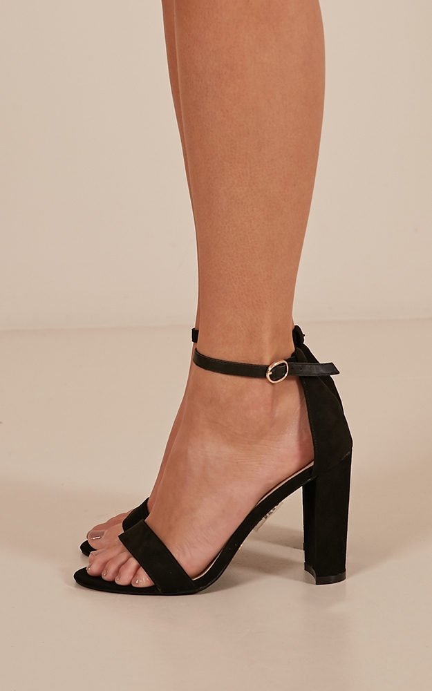 Billini - Jessa Heels in black micro - 5, Black, hi-res image number null