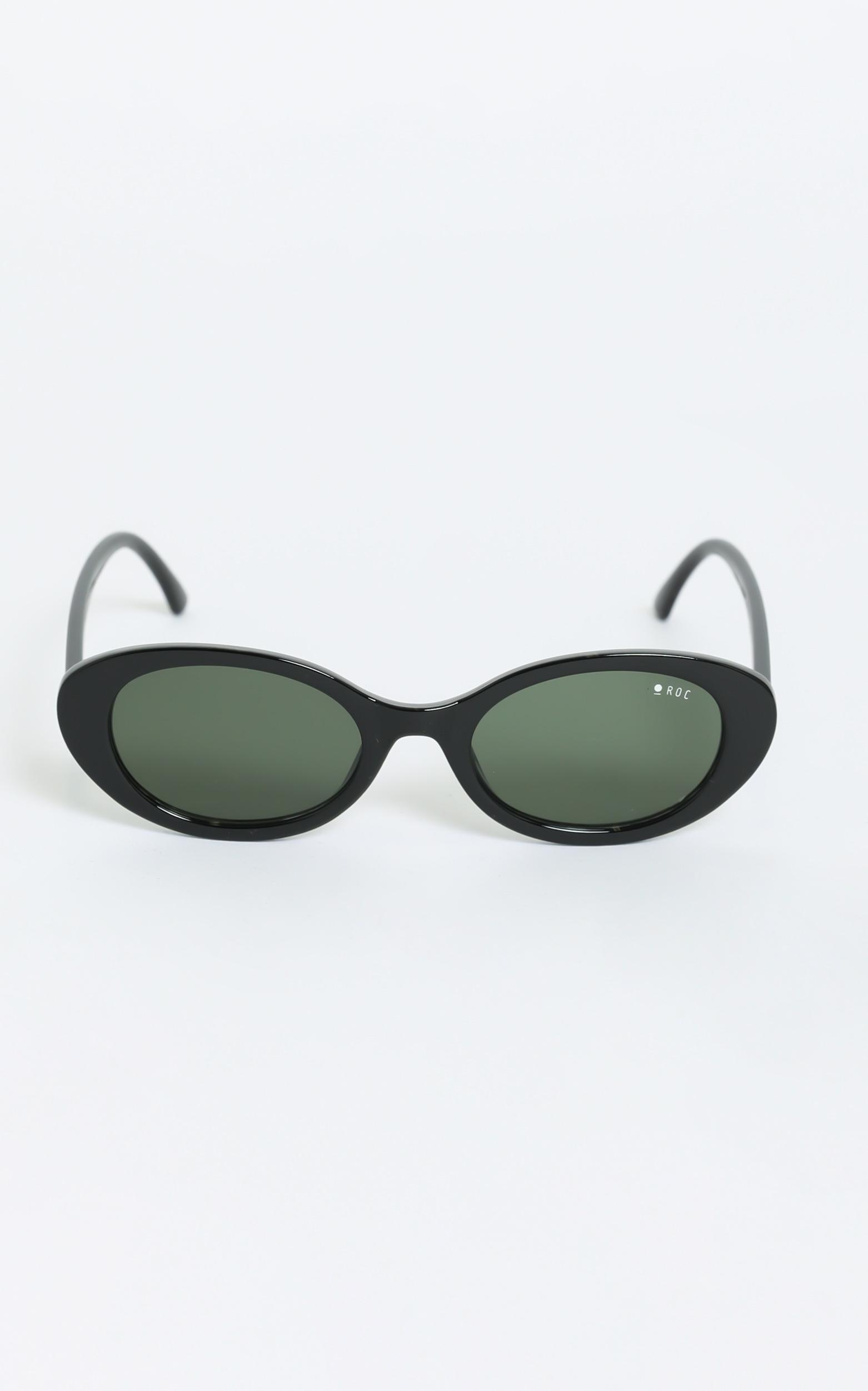 Roc - Flirty Sunglasses in Black, , hi-res image number null