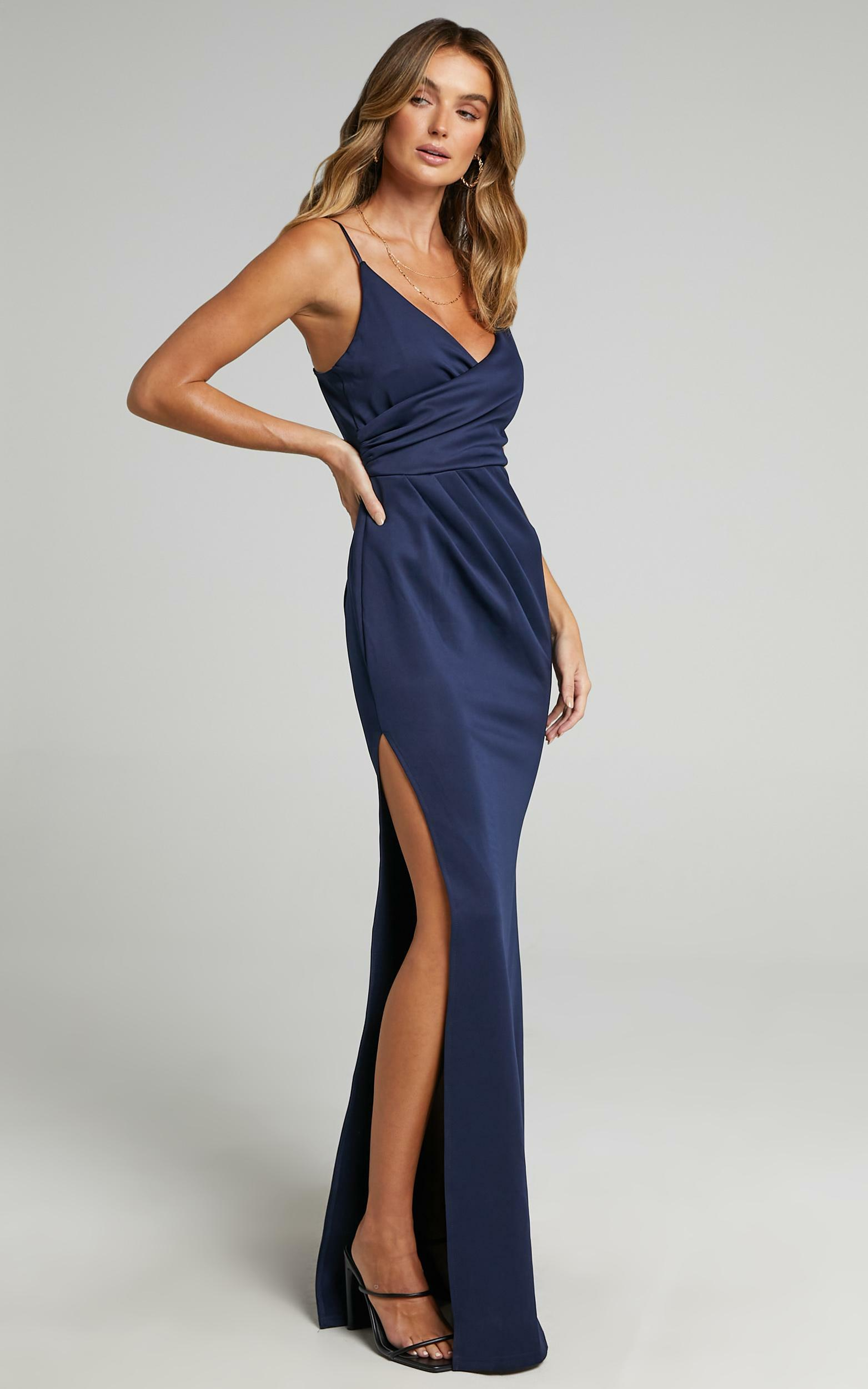 Linking Love Maxi Dress in Navy - 04, NVY2, hi-res image number null