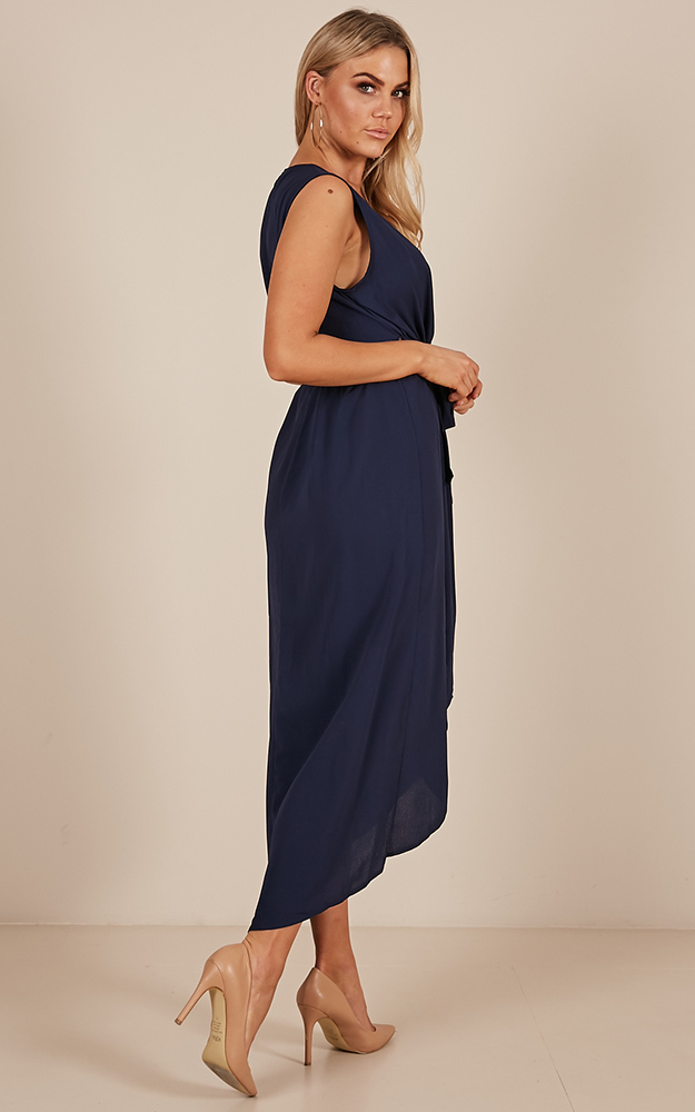 Morning To Night dress in navy-4 (XXS), Navy, hi-res image number null