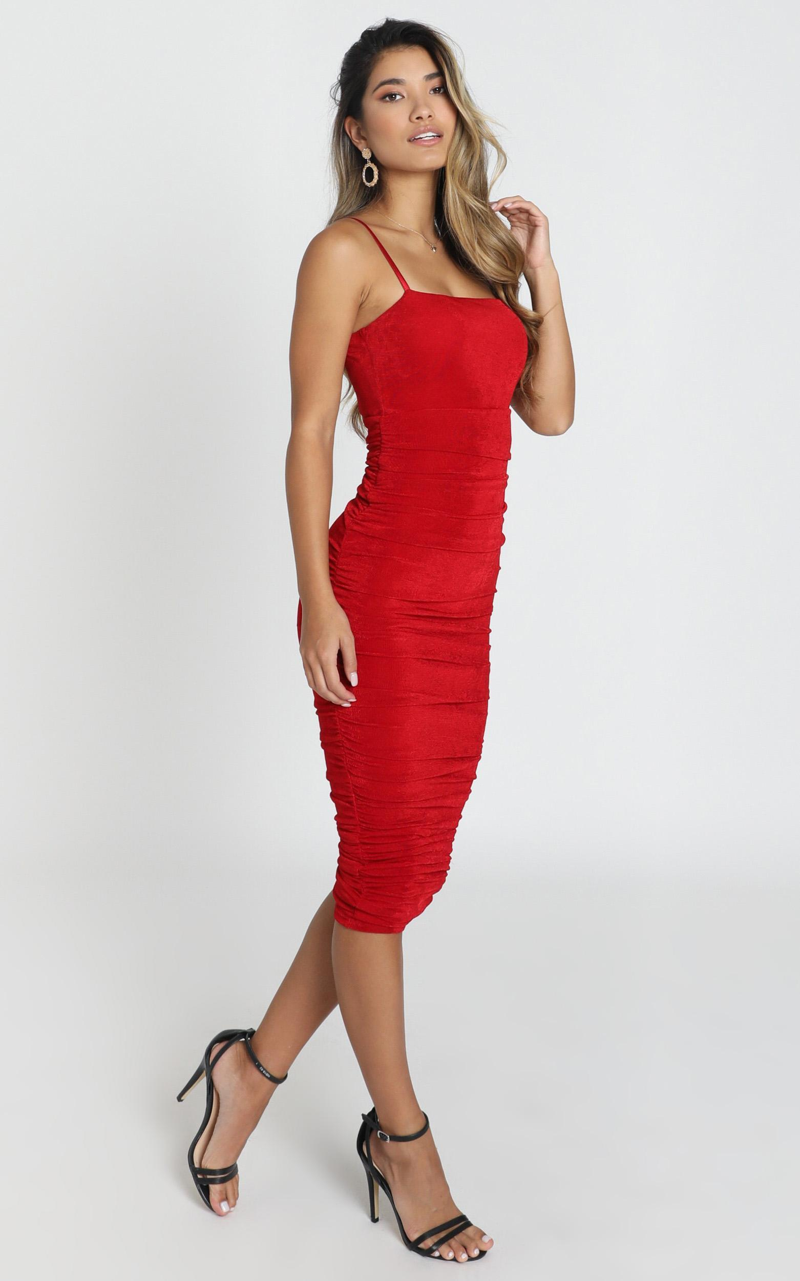 Commit To Me Maxi Dress in red - 20 (XXXXL), Red, hi-res image number null