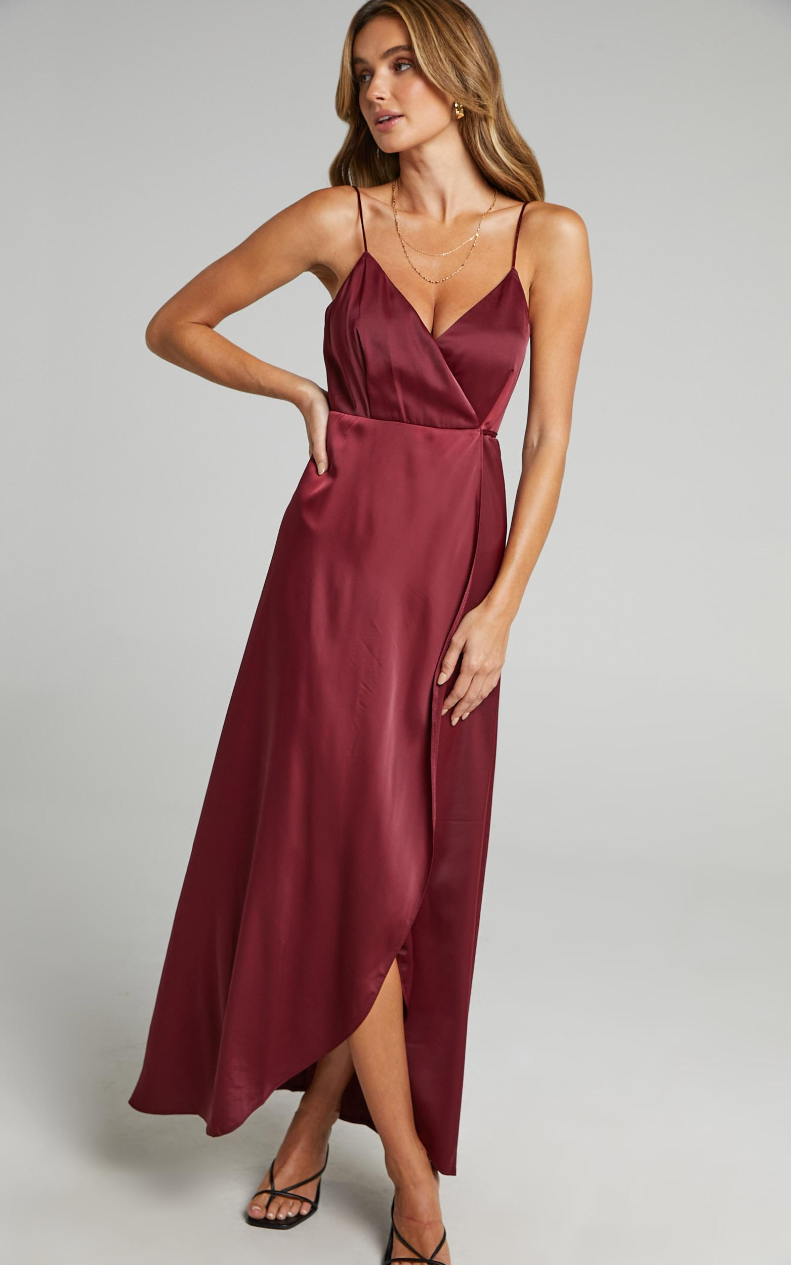 Mine Would Be You Dress in Wine - 20, WNE4, hi-res image number null