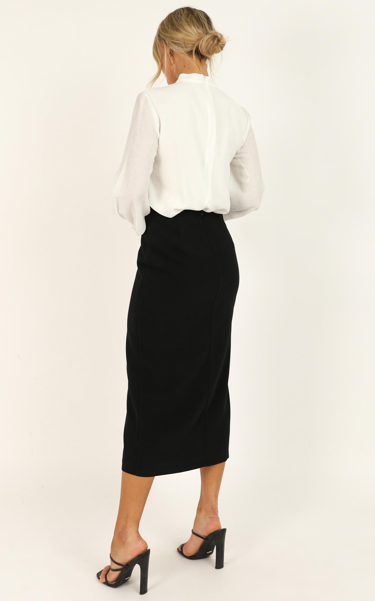 Number Cruncher Skirt in black - 20 (XXXXL), Black, hi-res image number null