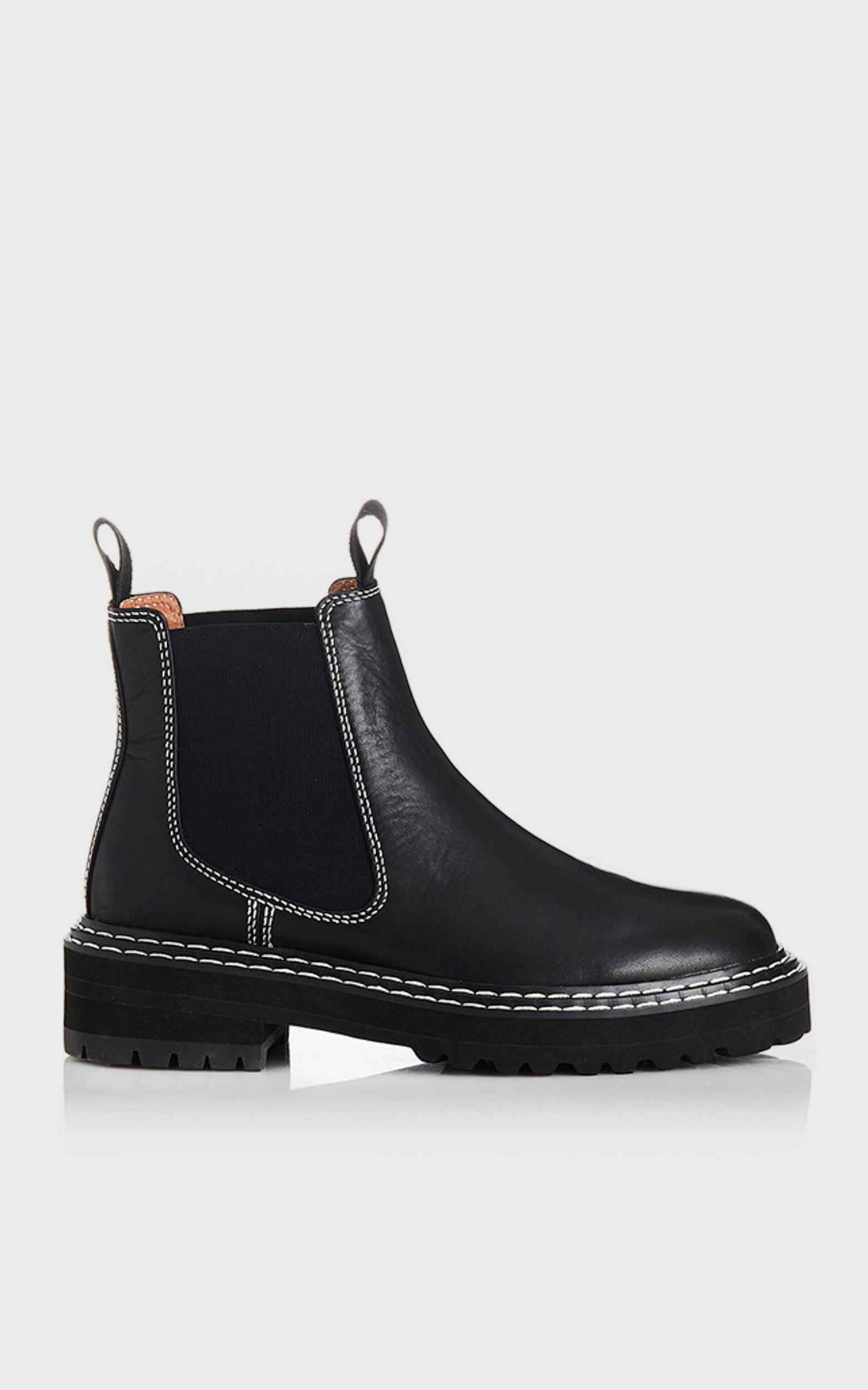 Alias Mae - Rome Boots in Black Burnished - 5.5, BLK2, hi-res image number null