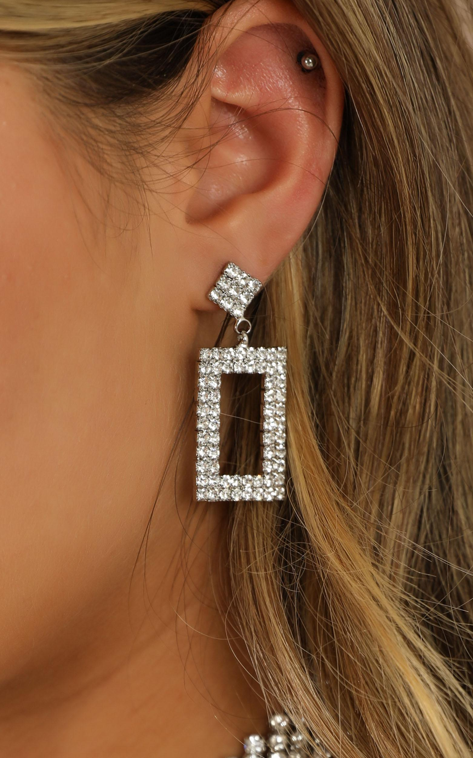 Back To Life Earrings In Silver, , hi-res image number null