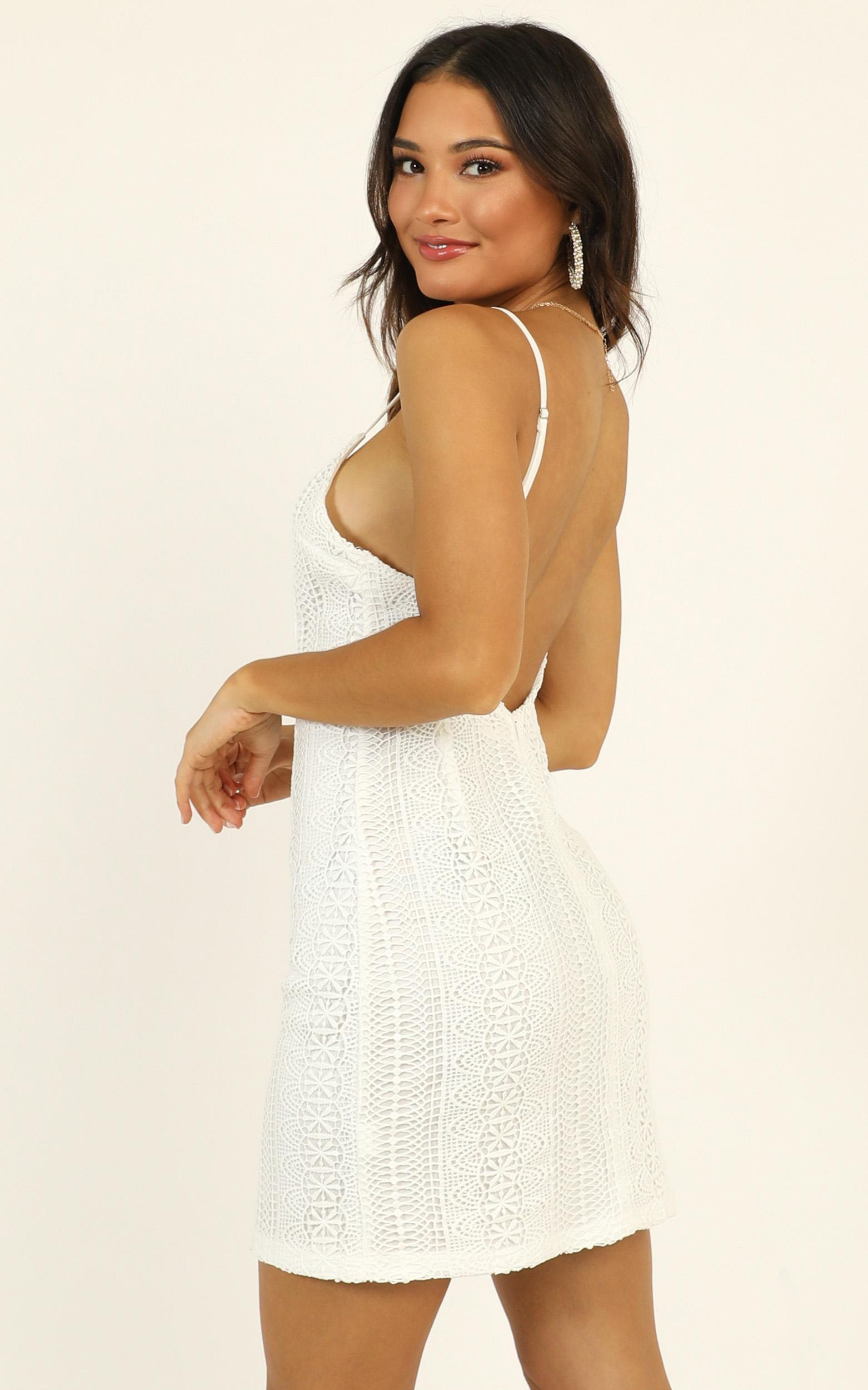 The Day I Fell In Love Dress in white lace - 20 (XXXXL), White, hi-res image number null