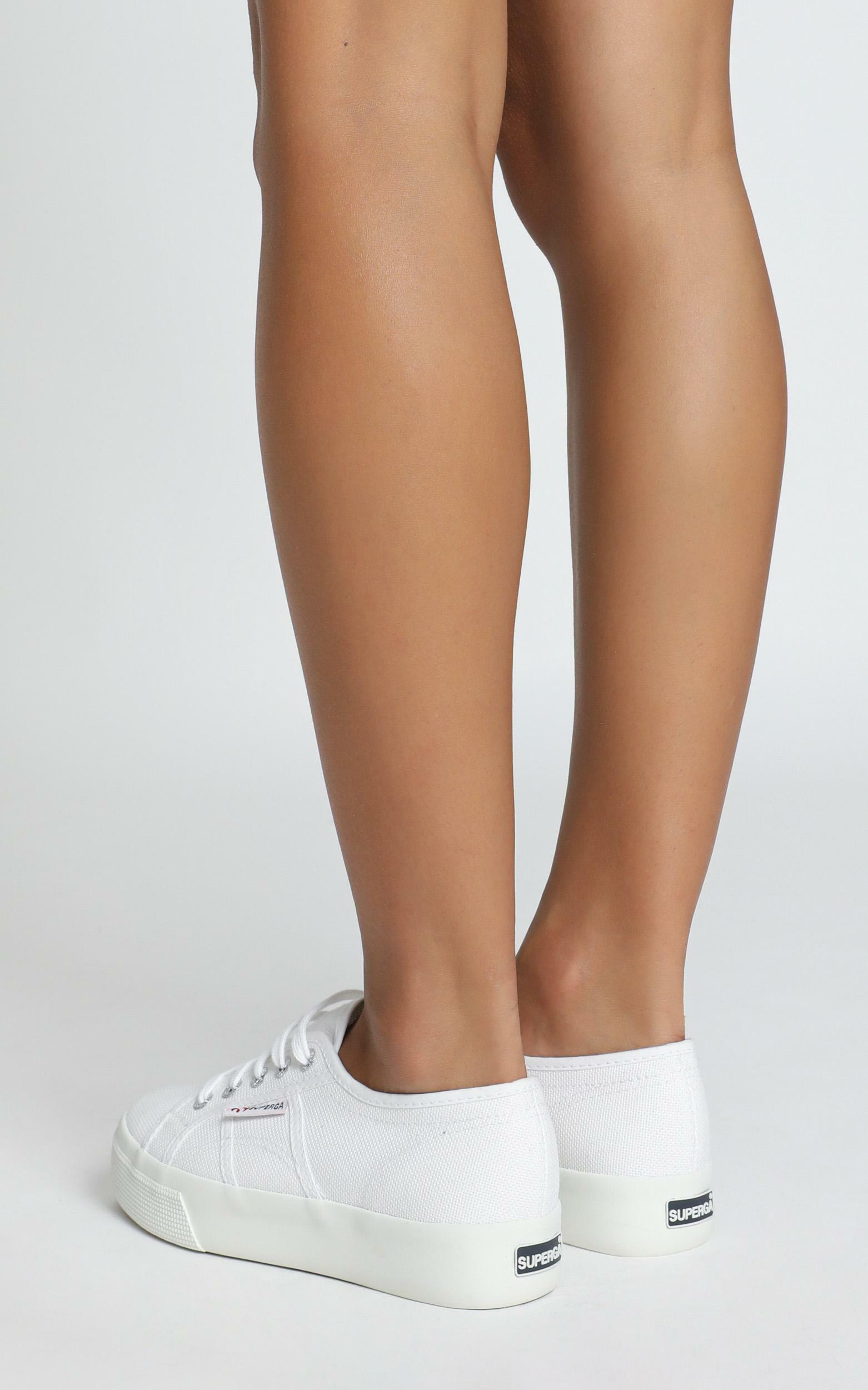 Superga- 2730 Cotu Sneakers in white canvas - 11, White, hi-res image number null