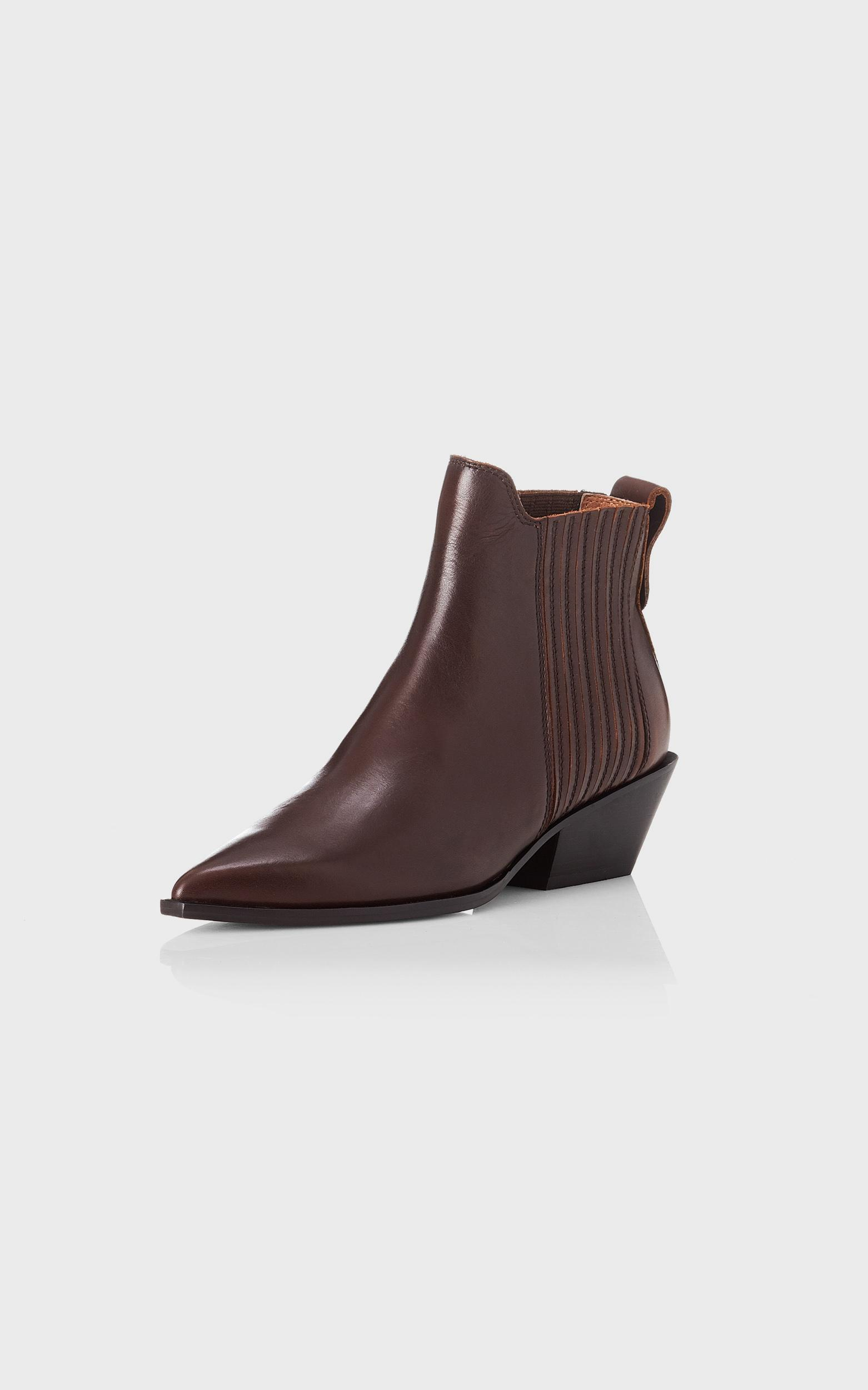 Alias Mae - Seth Boots in Choc Burnished - 5.5, BRN1, hi-res image number null